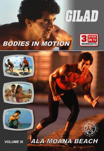 Gilad: Bodies In Motion - Ala Moana Beach [DVD] [Region 1] [NTSC] [US Import]