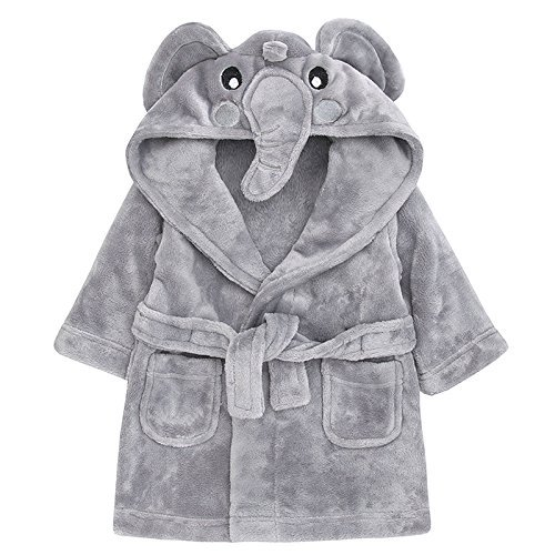 Babytown Novelty Animal Dressing Gown Elephant 12-18 Months
