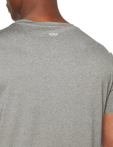 BOSS Casual Herren T-Shirt Grau (Medium Grey 030)
