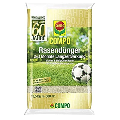 Compo Jubiläums-Rasendünger 13,5kg für 500qm - 20243 von Compo bei Du und dein Garten