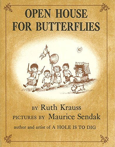 Open House for Butterflies par Ruth Krauss
