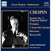 Arthur Rubinstein, Piano