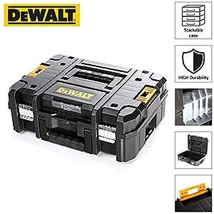 51VvGcMShxL. SS300  - DEWALT DWST1-70703 TStak II - Caja de almacenamiento para herramientas (13,5 L, T-STAK), color negro
