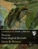 Pierson Genealogical Records