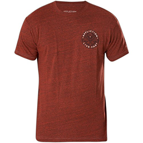 Affliction T-Shirt Brave Freedom Rot Rot