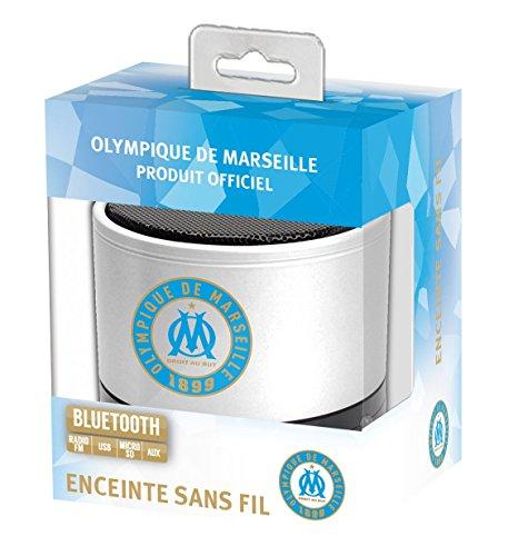 Subsonic SA5375-2 Enceinte sans fil 3 W Olympique de Marseille Bleu