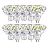 GVOREE MR16 GU5.3 LED Lampen Lampe Natur Tageslicht Weiß AC DC 12 V 5 Watt Ersetzen 50 Watt Halogenlampe GU5.3 LED Spot Glühbirnen 4000 Karat 120 °Abstrahlwinkel Helligkeit Nicht Regelbar 10