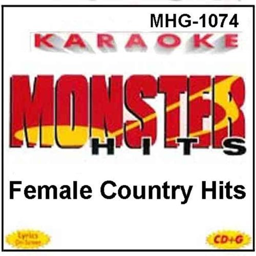 monster-hits-karaoke-1074-female-country-hits-by-reba-mcentire