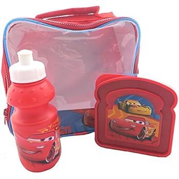 Disney Cars Mach Speed 3 Piece Lunch Bag Set