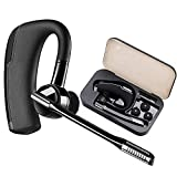 Bluetooth Headset, In-Ear Business Wireless Ohrhörer Handy Funk Sport Kopfhörer Freisprecheinrichtung Auto Surround Kabellos Headsets für iPhone Samsung Huawei Android Laptop
