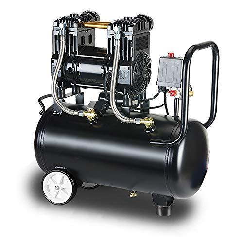 Bomba aire 30L, 980W Sin Aceite Compresor De Bajo