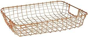 Design Ideas Cabo Letter Basket-Copper by Design Ideas