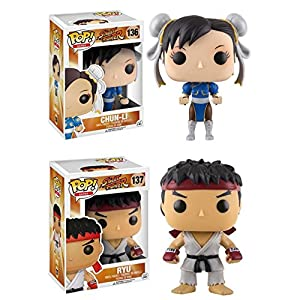 Funko Pop Pack Chun-Li + Ryu (Street Fighter) Funko Pop Street Fighter