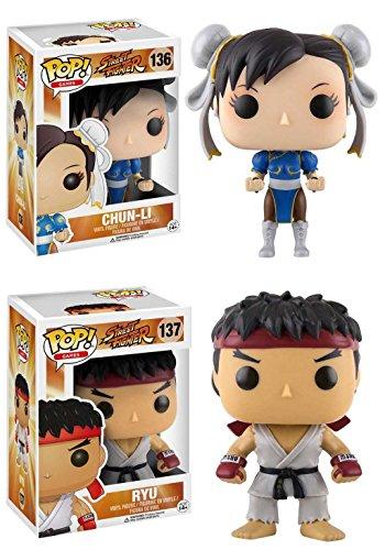 Funko Pop Pack Chun-Li + Ryu (Street Fighter) Funko Pop Street Fighter