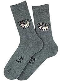 Mi-chaussettes Lascar en coton