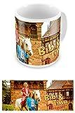 empireposter - Bibi & Tina - Schloss Falkenstein - Größe (cm), ca. Ø8,5 H9,5 - Lizenz Tassen, NEU - Beschreibung: - Keramik Tasse, weiß, bedruckt, Fassungsvermögen 320 ml, spülmaschinen- und mikrowellenfest -