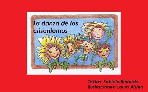 LA DANZA DE LOS CRISANTEMOS. Libro ilustrado para niños y niñas de 2 a 5 años. (Cuentos para ser leídos nº 1) por F.C.  Rinaudo