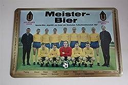 Eintracht Braunschweig Blechschild 20x30 cm Meister Bier - Deutscher Meister 1967