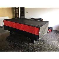 Billar/Mesa de billar 7pies cubierta resistente fabricado en Inglaterra, negro /rojo