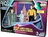 Captain James Kirk + Balok + Baloks Puppe - 3 Figuren Set - Star Trek 1998