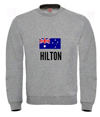 Felpa Hilton city Gray