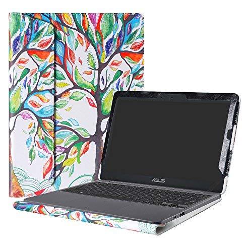 """Alapmk Spécialement Conçu Protection Housses pour 11.6"""" ASUS VivoBook E203NA E200HA L200HA / Chromebook C201 C201PA Series Ordinateur Portable,Love Tree"""