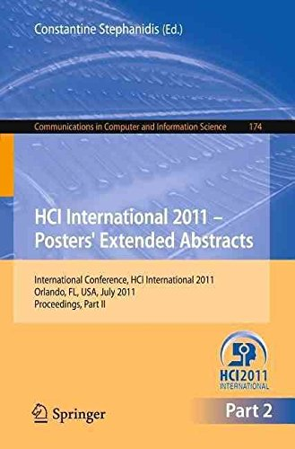 [(HCI International 2011 Posters' Extended Abstracts: Part II : Proceedings)] [Edited by Constantine Stephanidis] published on (September, 2011)