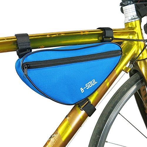 Riiya Fahrrad Radfahren Pouch Oberrohr Dreieck Rahmen-Pack-Bike Bag Blue