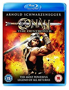 Conan The Destroyer Blu Ray [DVD] [UK Import]