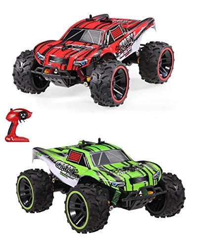 RC Auto kaufen Truggy Bild 3: Ferngesteuertes Auto, 1:16 Skala 2WD RC Auto Off Road Buggy, 2.4 Ghz Radio Control Geländewagen Spielzeug Fahrzeug für Kinder Erwachsene im Drinnen und draußen*