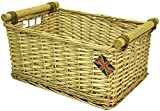 east2eden Honey Wicker Storage Kitchen Draw Hamper Basket in Choice of Sizes & Deals (Small)