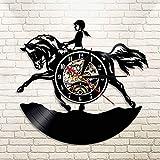 Mrzy Ich Liebe Nähen Vinyl Record Wanduhr Quilten Wanduhr Vintage Sägemaschine Zeit Uhr Näherin Sägemädchen Geschenk