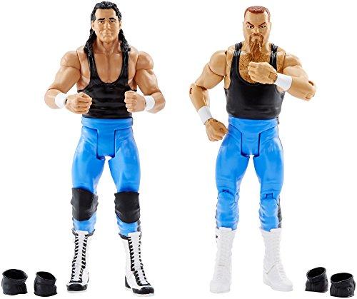 WWE BRET HART und Jim Neidhart Action Series 47Figur, 2Stück