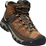 Keen Targhee III Waterproof Mid, Zapatos de High Rise Senderismo para Hombre, Marrón (Big Ben/Golden Brown 0), 43 EU