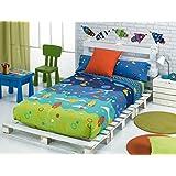 Funda nórdica 3 piezas Space cama de 90