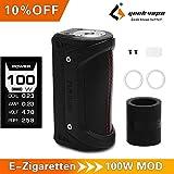 GeekVape Aegis 100W TC Box mod, E Zigarette Mod, Wasserdicht, Stoßfest, Staubdicht E Zig Vape Mod (Schwarz)