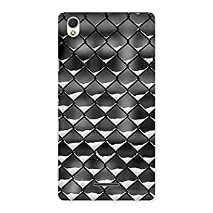 Cage Snow Back Case Cover for Sony Xperia T3