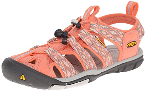 Keen  CLEARWATER CNX W-CARIBBEAN SEA/PUMICE ST, sandales femme Rouge