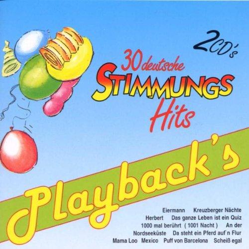 Playback's: 30 deutsche Stimmung...