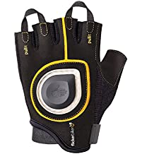 Flicker Biker bicicleta guante con LED indicador de dirección, LED Señal Bike Gloves, amarillo/negro