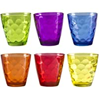 BEPER Vaso, Multicolor, 24Cl, Juego de 6