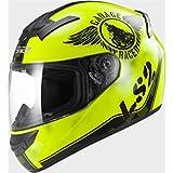 LS2 103523254XL FF352 Casco Rookie Fan, Color Hi/Vis Amarillo, Tamaño XL