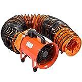 Olibelle 8 Pouces Ventilateur Industriel Extracteur d'Air Avec Conduite de PVC 10M