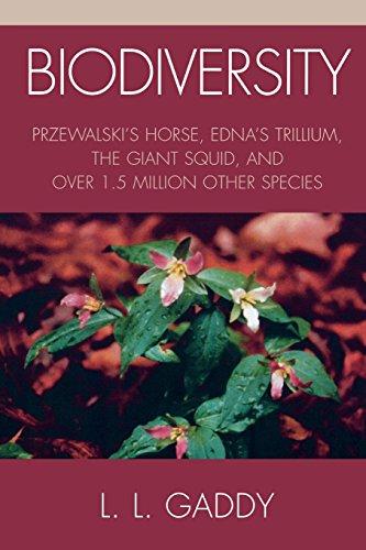 Biodiversity: Przewalski's Horse, Edna's Trillium, The Giant Squid, and Over 1.5 Million Other Species