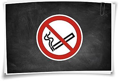 Verbotszeichen P002 Rauchen verboten Verbot Aufkleber Verbotsschild Rauchverbot