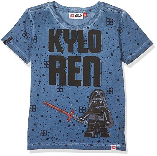 LEGO Wear Jungen Lego Boy Star Wars Teo 650-T-Shirt, Blau (Blue 552), 122 Preisvergleich