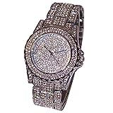 GOOD01donne di lusso orologi in ceramica con strass di cristallo al quarzo Lady Dress Watch