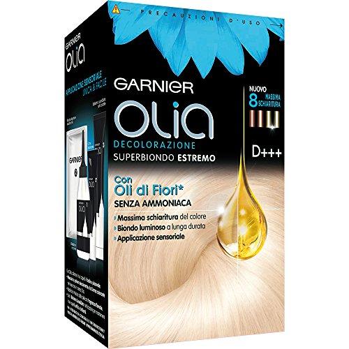 Garnier olia decolorazione senza ammoniaca, elevata schiaritura del colore, superbiondo estremo, d+++