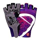 Blisfille Handschuhe Arbeit Handschuhe Herren Damen Sporthandschuhe Gloves Halbfinger Trainingshandschuhe Mtb Mountainbike