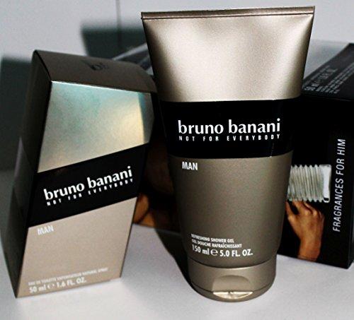 Bruno Banani Man Basic Geschenkset EDT 50ml + Shower Gel 150ml / Eau De Toilette Spray & Duschgel/ for Him/ für Ihn